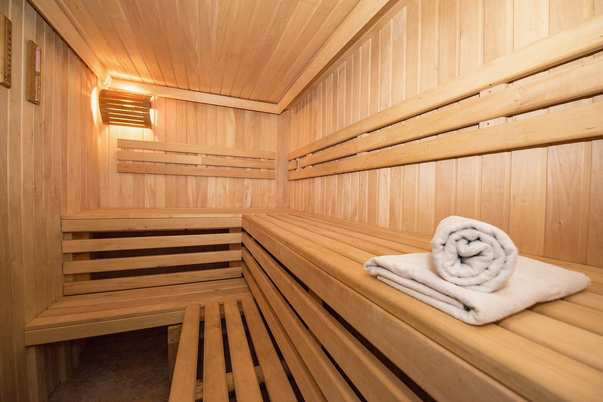 Im going to the sauna for the first time. What should I bring with me